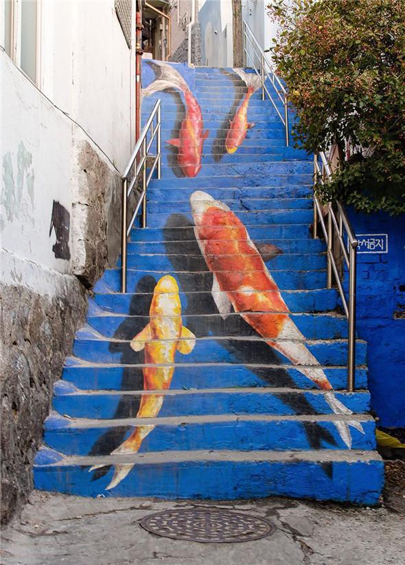 有一种楼梯,不是用来爬的 - 菲菲雨 - 菲菲雨的天空