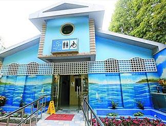 美貌和智慧并存的杭州公厕 在这里露个大