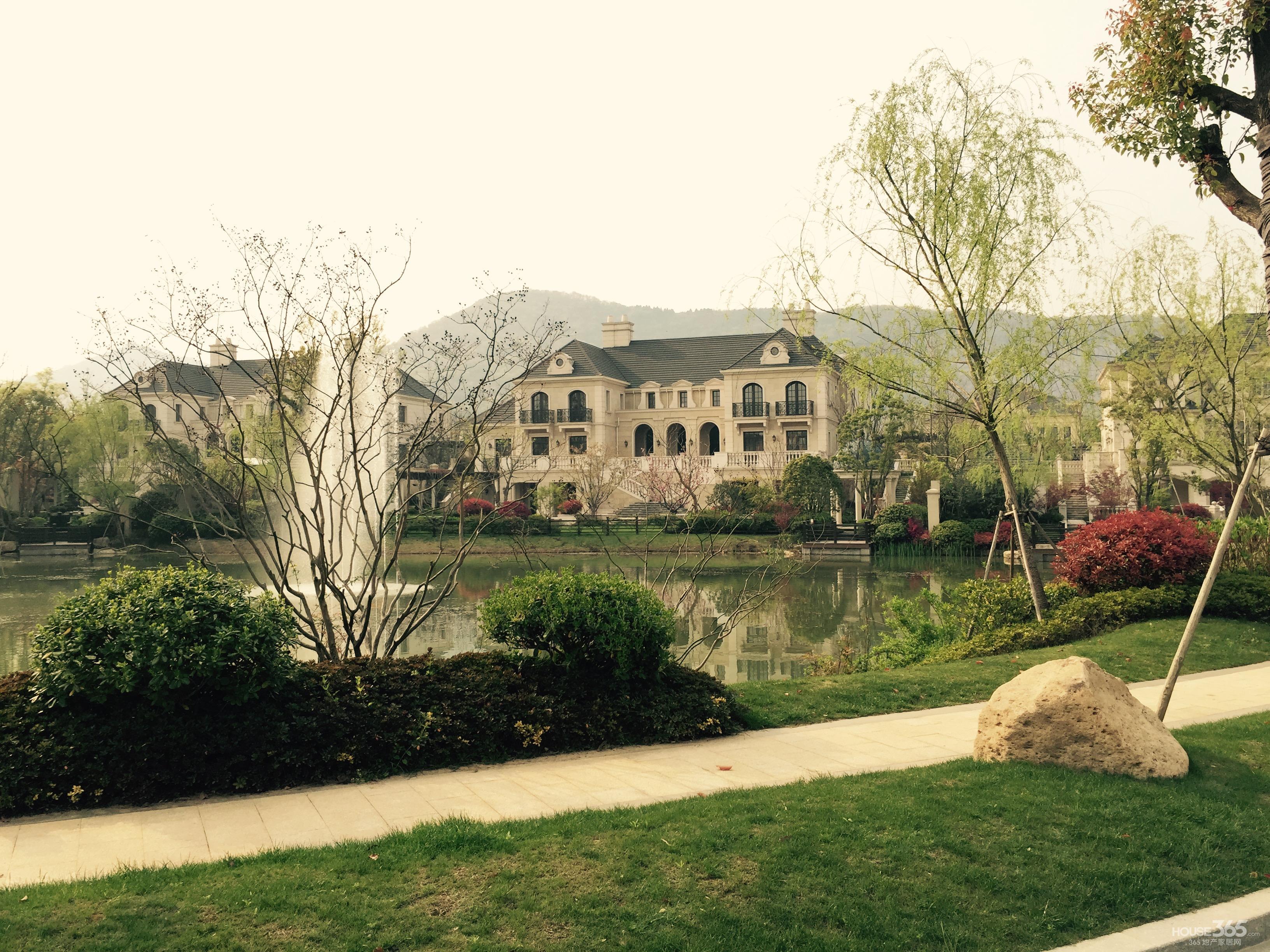 绿城玫瑰园 顶级别墅 高贵荣耀 靠山靠水 超大花园