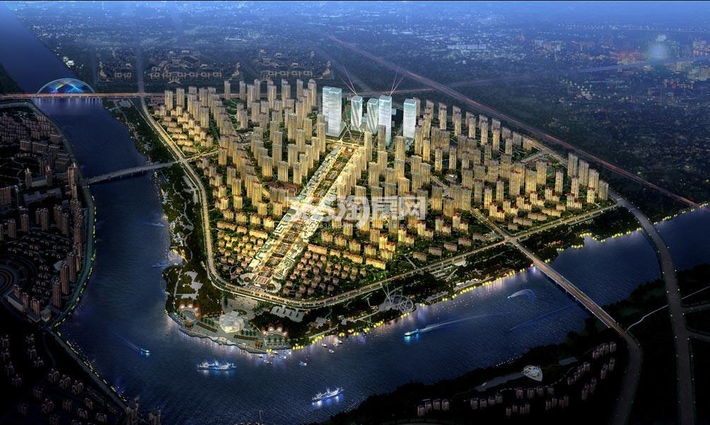 天津津南新城 效果图