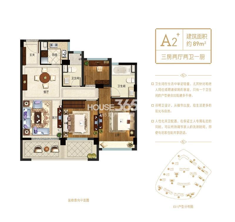 杭州新房 西湖区 融创河滨之城 住宅  此户型购房费用(按默认条件)