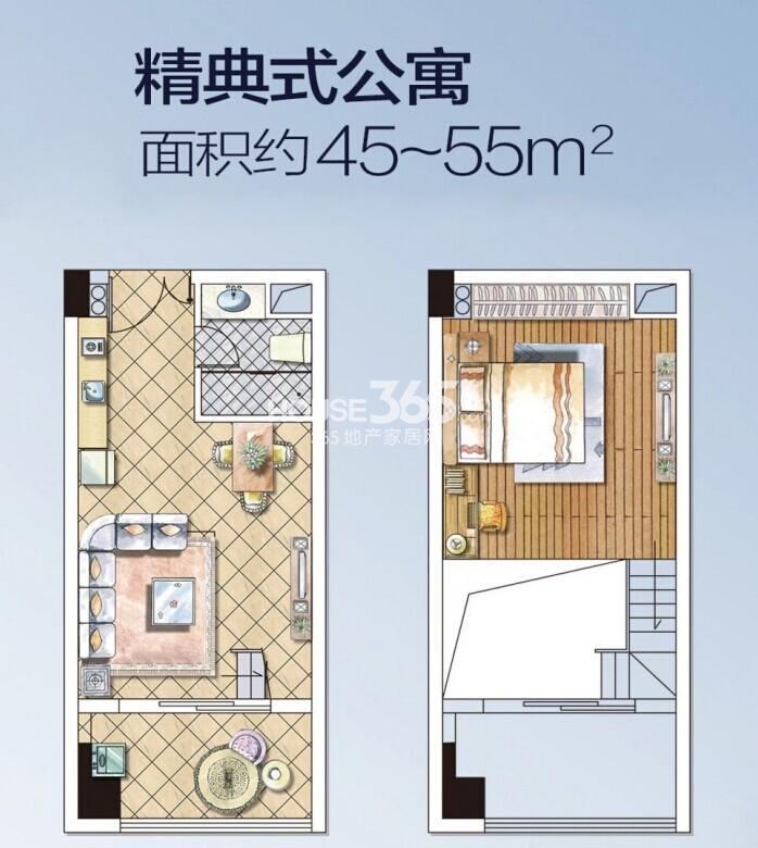 40平方公寓设计手绘平面图