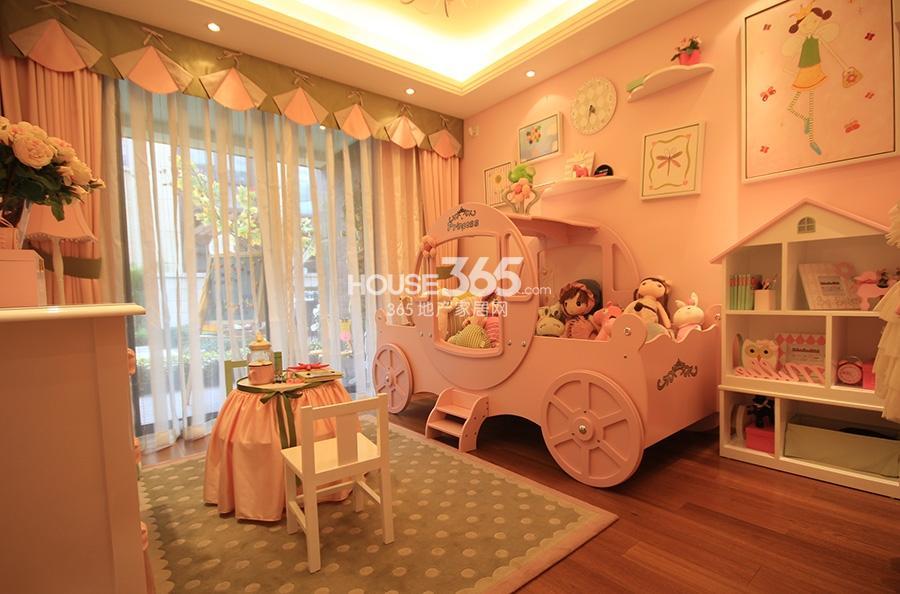 申花壹号院项目138方星空洋房样板房--儿童房