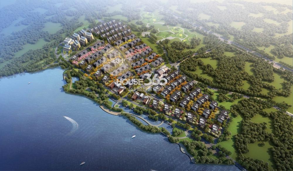 瑞安翠湖山鸟瞰图