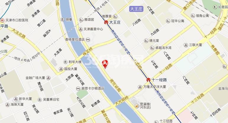 中海城市广场交通图