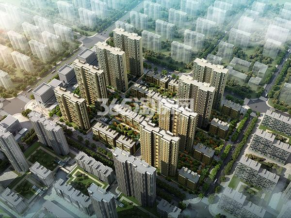 安联生态城效果图