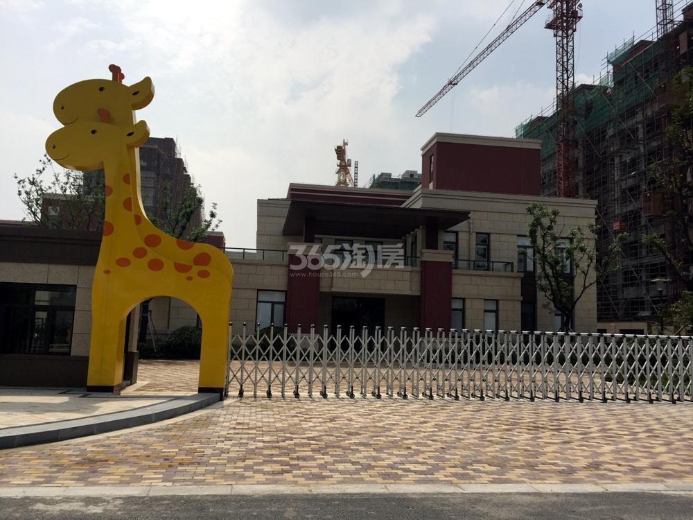 高科荣境南面的幼儿园实景图(7.5)