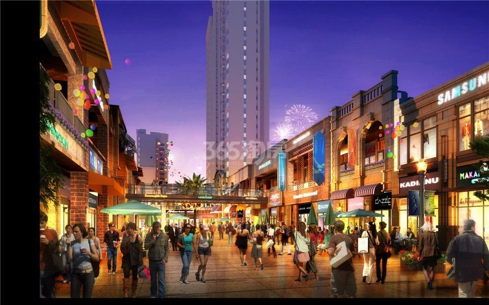 扬州万达广场效果图