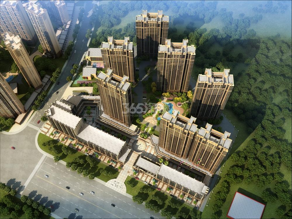 中南锦苑鸟瞰图