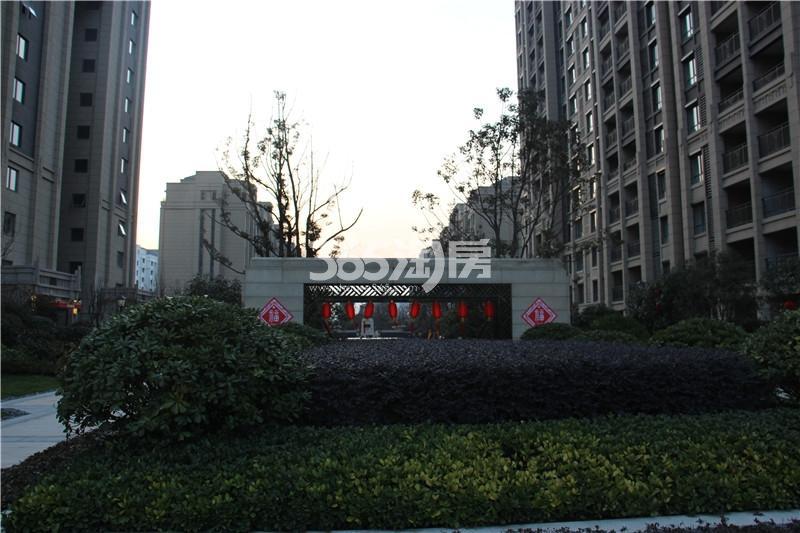 中海运河丹堤小区实景
