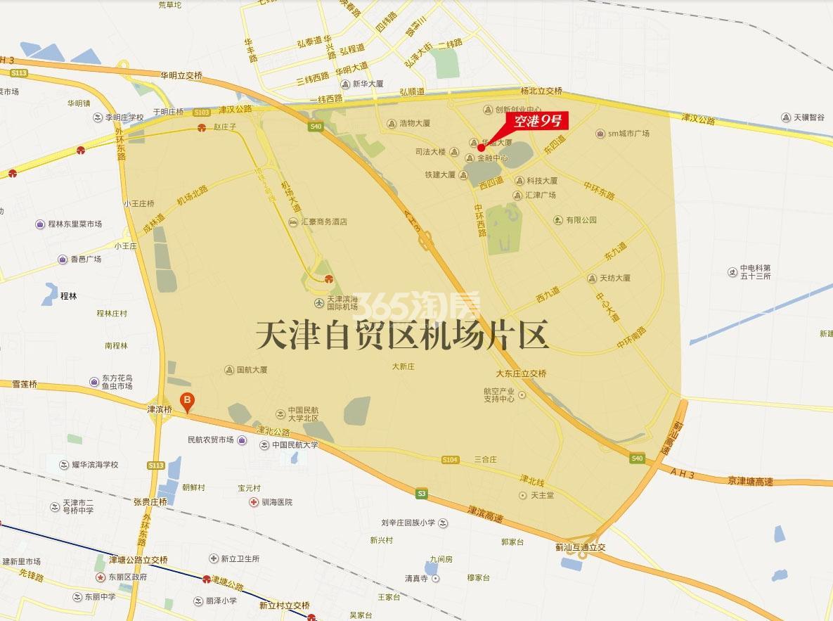 松江之星空港9号交通图