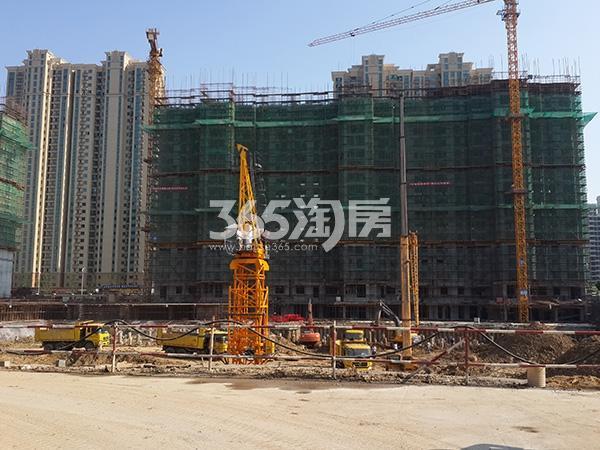 无锡恒大绿洲四期施工进度实景图(2016.4 摄)
