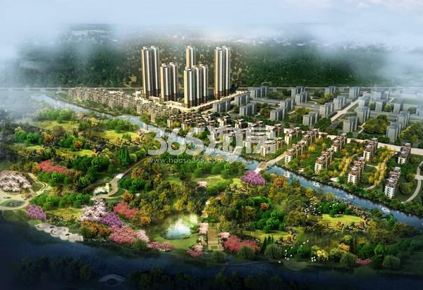 无锡万达文化旅游城鸟瞰图