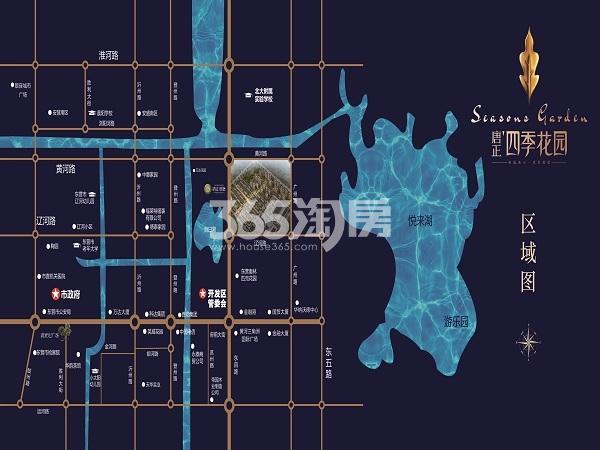 唐正四季花园交通图
