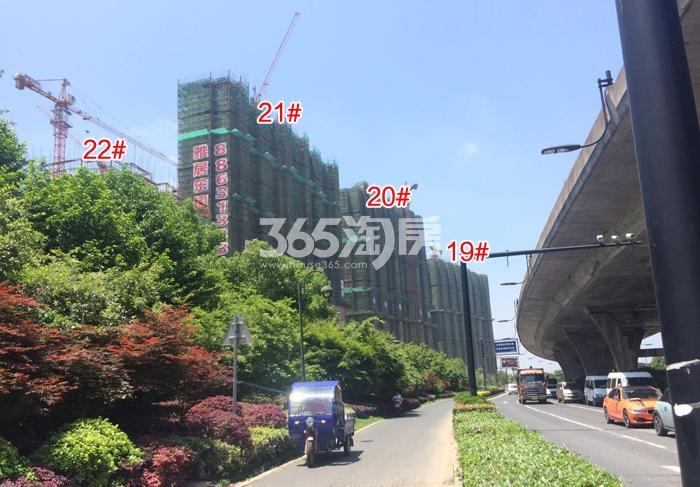 雅居乐国际花园19—22号楼施工进程(2016.5)