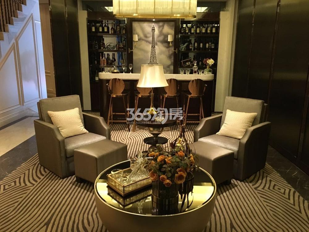 银亿东城144㎡联排别墅样板间休息厅