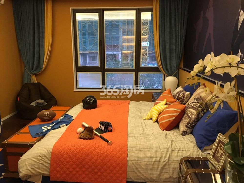 银亿东城144㎡联排别墅样板间卧室