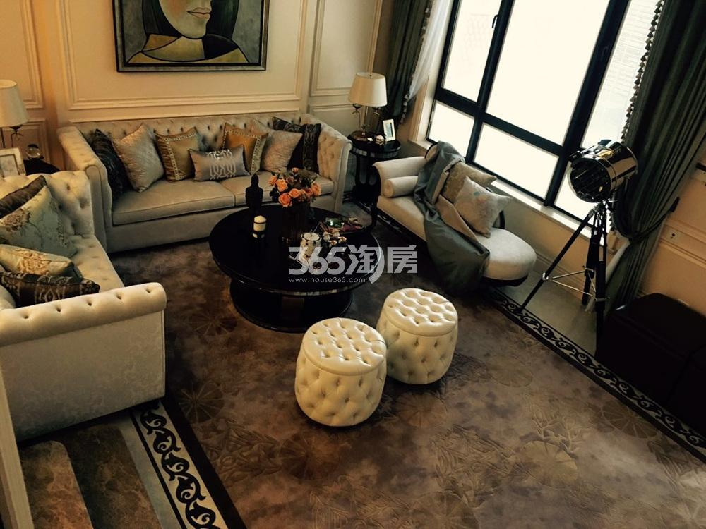 银亿东城165㎡联排别墅样板间客厅