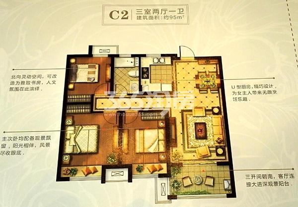 C2户型(95㎡)