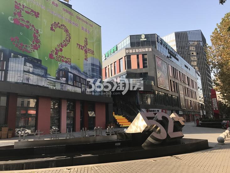 世茂外滩新城项目周边商业实景图(02.12)