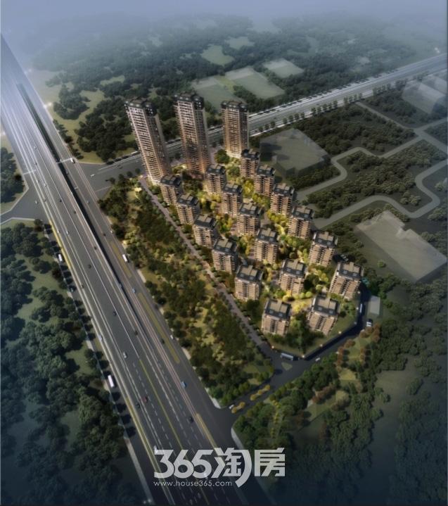 新华九龙首府鸟瞰图