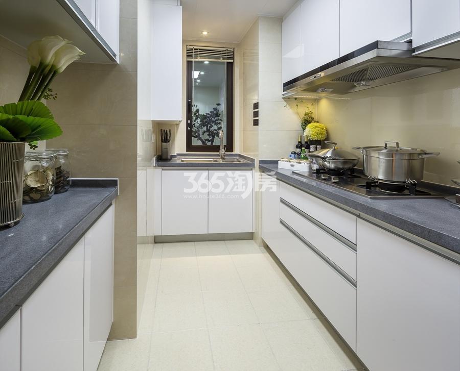 新城香悦公馆A1户型89方样板房——厨房