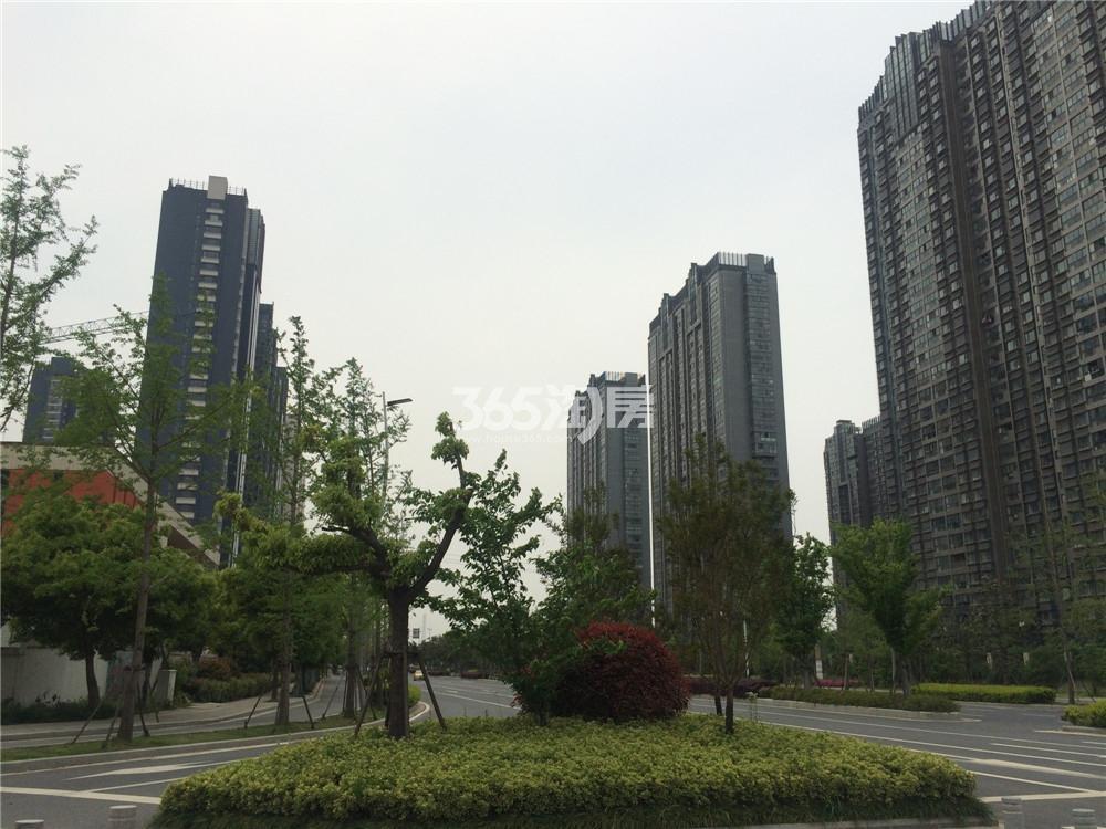 海峡城第三街区实景图(4.20)