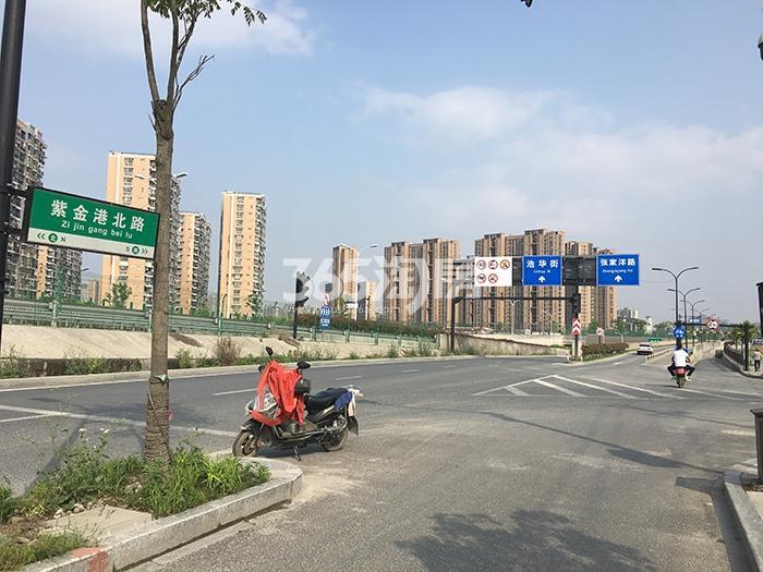 中国铁建西湖国际城交通图