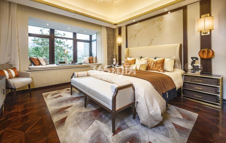 新城香悦公馆P1户型图150方样板房——三层主卧