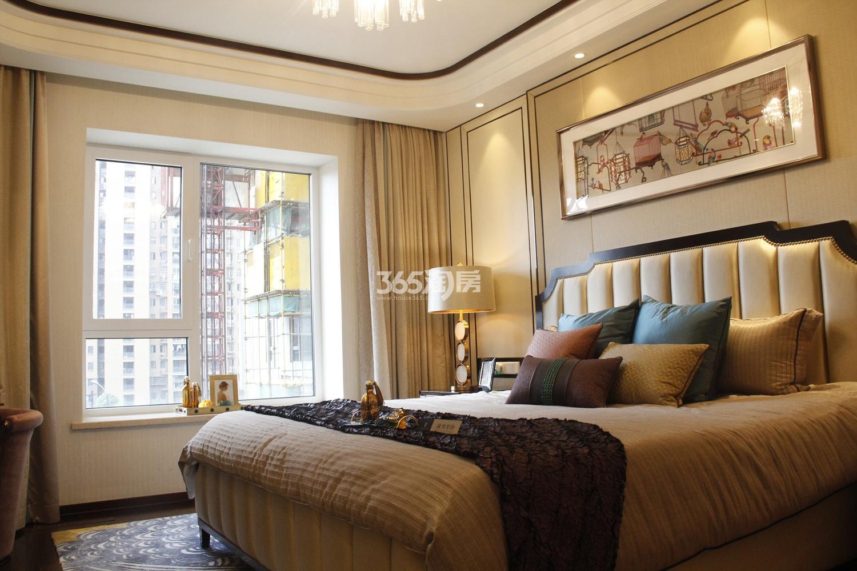 滨江保利翡翠海岸C1户型(169㎡)样板房---卧室