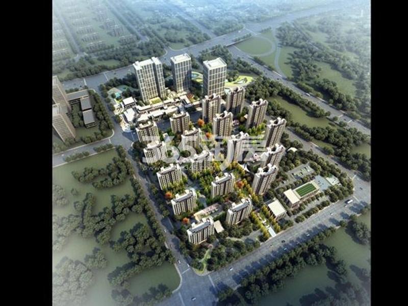 绿地理想城鸟瞰图