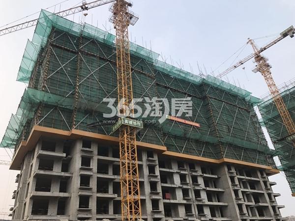 栖霞东方天郡三期高层实景图(2017.6 摄)