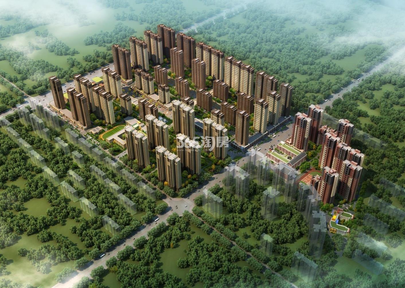 华远海蓝城规划图