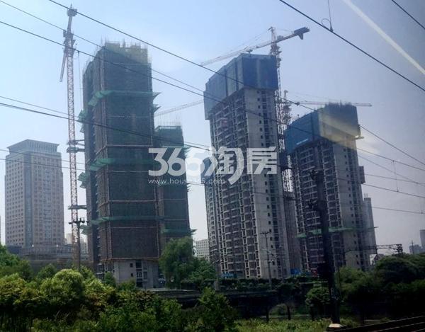 世茂时光里3#、4#、5#、6#楼超高层工程实景(2017.5摄)
