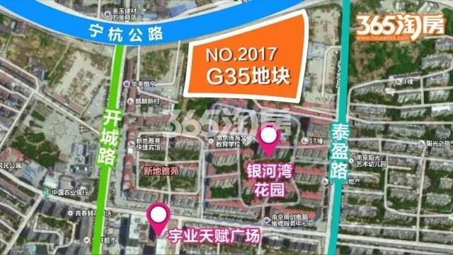 华发麒麟G35地块交通图
