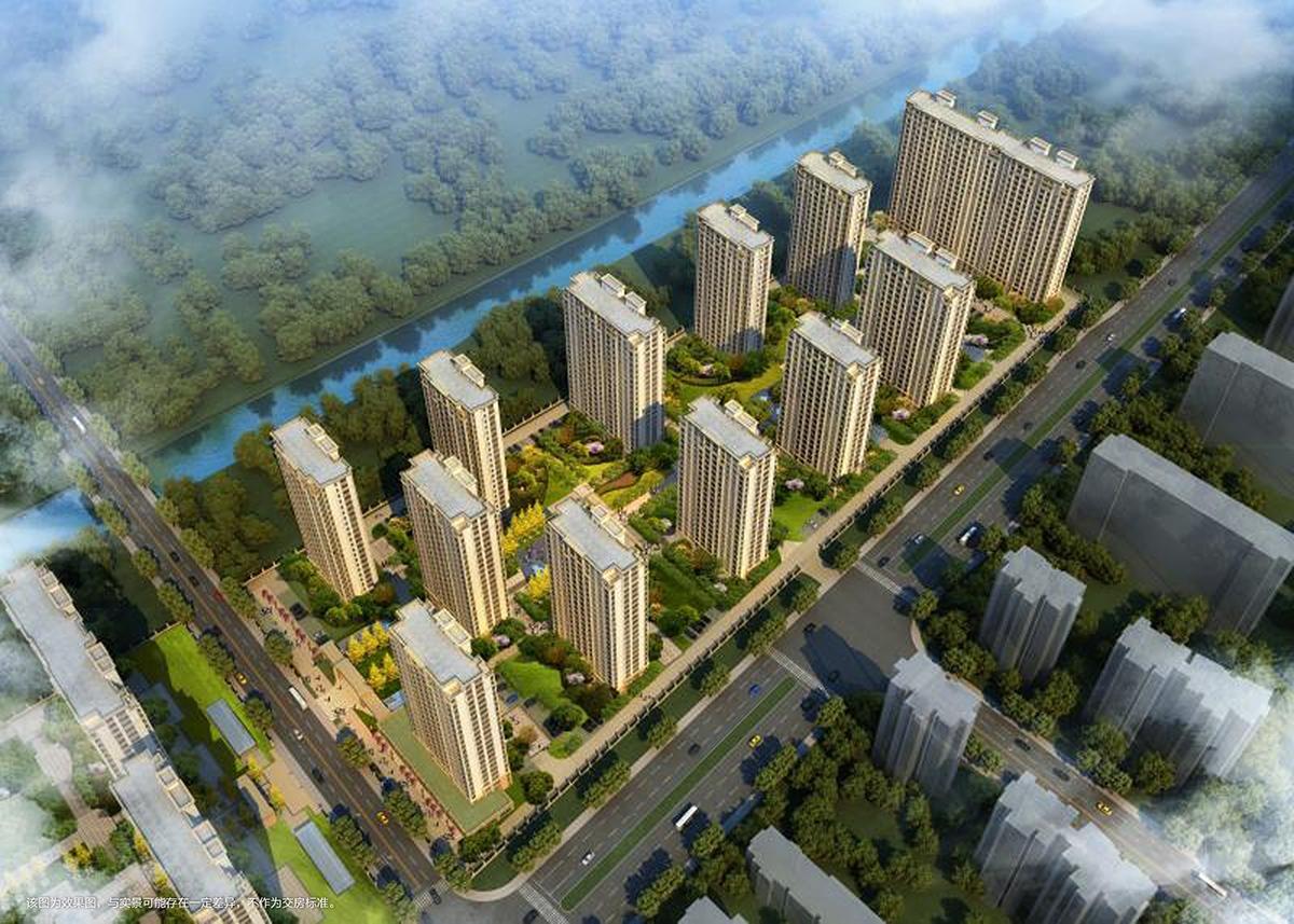 天都城滨沁公寓滨沁公寓鸟瞰图