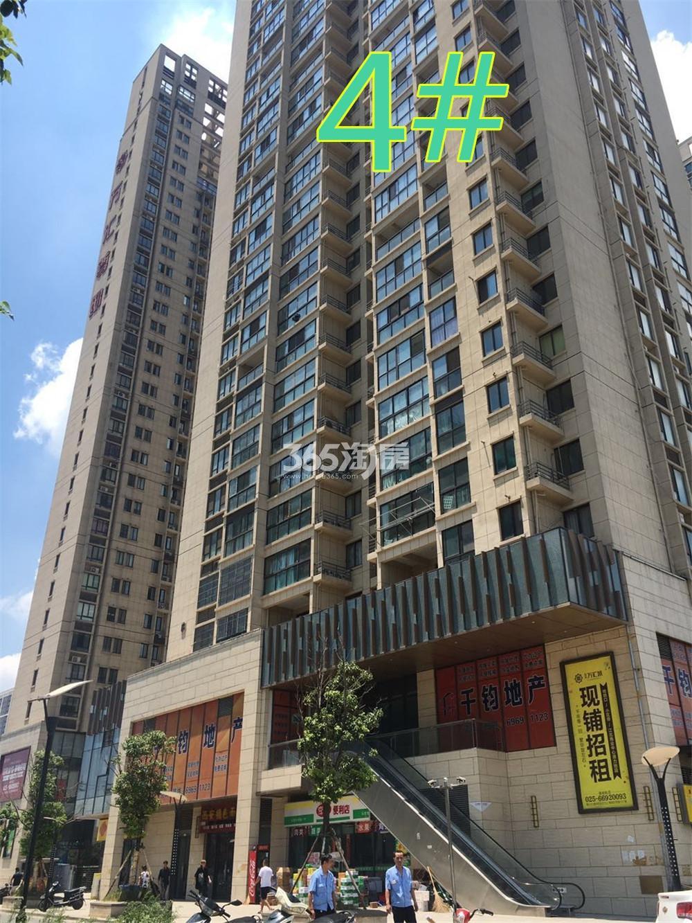 东方万汇城北区4号楼实景图(9.7)